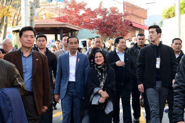 Kunjungi Desa Budaya Gamcheon di Busan, Presiden Jokowi: Bisa Jadi Inspirasi 113