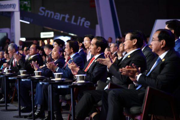 Presiden Jokowi Dorong Perdamaian di Semenanjung Korea 114