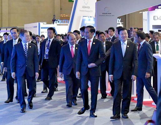 Presiden Jokowi Dorong Perdamaian di Semenanjung Korea 113