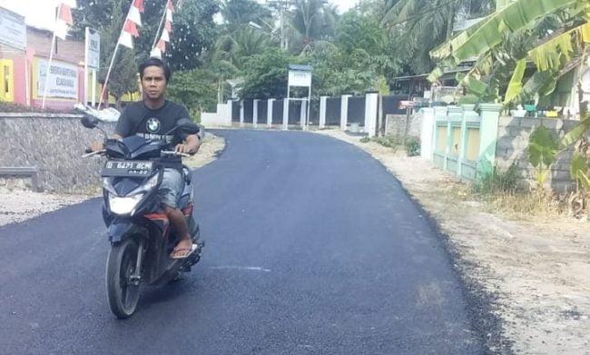 "Ketinggian Proyek Hotmix Jalan Mangunjaya - Sindangayu ""Dikorup,"" Kontraktor Tutup Mulut 111"