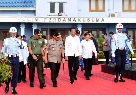 Presiden Jokowi Tinjau Lokasi Ibu Kota Baru dan Resmikan Tol Balikpapan-Samarinda 113