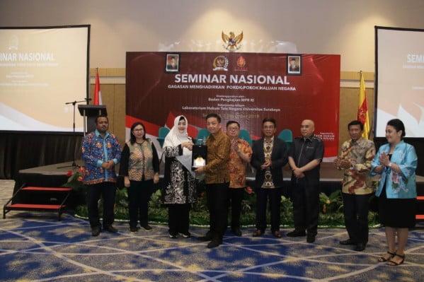 """Pimpinan Badan Pengkajian (Fahira Idris) Buka Seminar """"Gagasan Menghadirkan Pokok-Pokok Haluan Negara 113"""