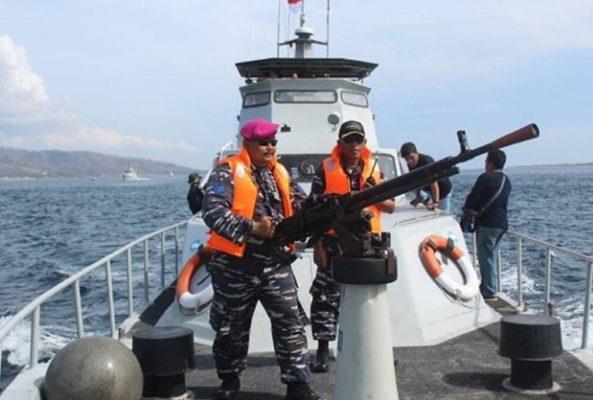 Amankan Selat Bali Pada Perayaan Nataru 2020, Unsur Laut Gabungan Laksanakan Patroli Pengamanan 111