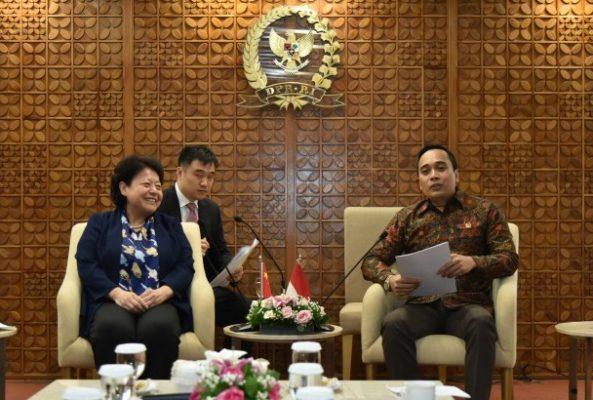Badan Kerja Sama Antar Parlemen (BKSAP) DPR RI : Parlemen Tiongkok Komitmen Kawal Keberagaman 113