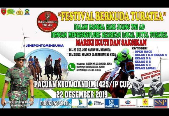 Ingin Makan Daging Kuda? Kunjungilah Festival Berkuda Turatea di Jeneponto 101