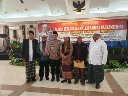 Polres Metro Jakarta Utara Mengadakan acara dialog kebangsaan dalam rangka Harkamtibmas 113