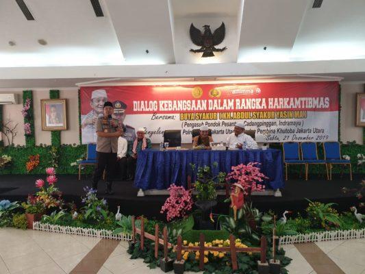 Polres Metro Jakarta Utara Mengadakan acara dialog kebangsaan dalam rangka Harkamtibmas 114