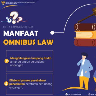 Upaya Perkuat Perekonomian Nasional melalui Penciptaan Lapangan Kerja dan Fasilitas Perpajakan Melalui RUU Omnibus Law 113