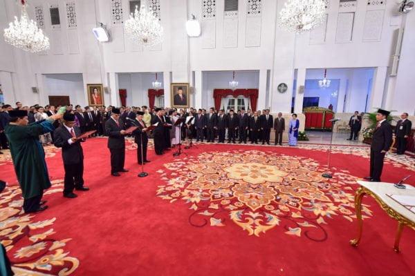 Presiden Joko Widodo Resmi Lantik Ketua dan Anggota Dewan Pengawas KPK 2019-2023 113