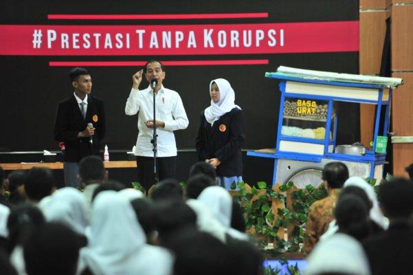 Presiden Jokowi : Ajak Biasakan Hidup Disiplin, Korupsi Dimulai Dari Hal-Hal Kecil 113
