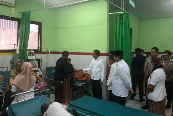 Presiden Jokowi Resmikan Pabrik PT. Chandra Asri dan Tol Ruas Kunciran-Serpong, Langsung Tinjau RSUD Cilegon 113