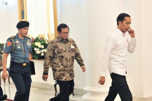 Presiden Jokowi Libatkan 30 Kementrian dan Lembaga Bahas Draf RUU Omnibus Law 113