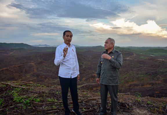 Presiden Jokowi : Lokasi Ibu Kota Baru Sangat Mendukung Untuk 'Smart City' 113