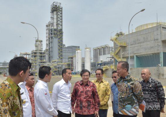 Presiden Jokowi : Perkiraan Saya 3-4 Tahun Kita Tidak Impor Petrokimia Lagi 103