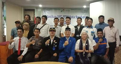 Diawali Penyuluhan Anti Penyalahgunaan Narkoba, Prosesi Pelantikan Pengurus PPWI Surabaya Berlangsung Lancar 113