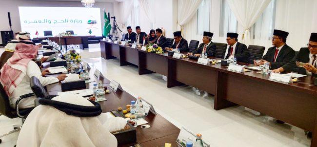 Menag Lobi Saudi Tetapkan Kuota Dasar Indonesia Sebesar 231ribu 112