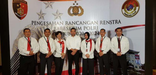 Dirtahti Polda Bali Menghadiri Kegiatan Pengesahan Rancangan Renstra Bareskrim Polri 2020-2024 113