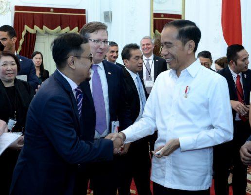 Presiden Jokowi Terima Dewan Bisnis AS-ASEAN Bahas Pertumbuhan dan Pemerataan Ekonomi 113