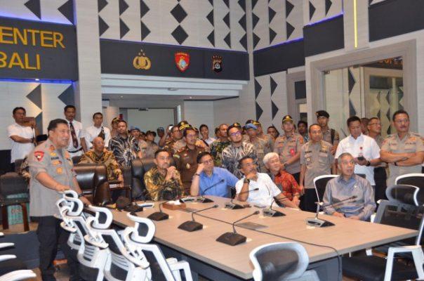 DPR RI Komisi III Apresiasi Command Center Polda Bali Atasi Kepadatan Lalin 113