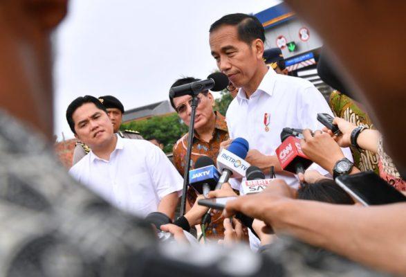 Presiden Jokowi Resmikan Pengoperasian Jalan Tol Kunciran-Serpong 111