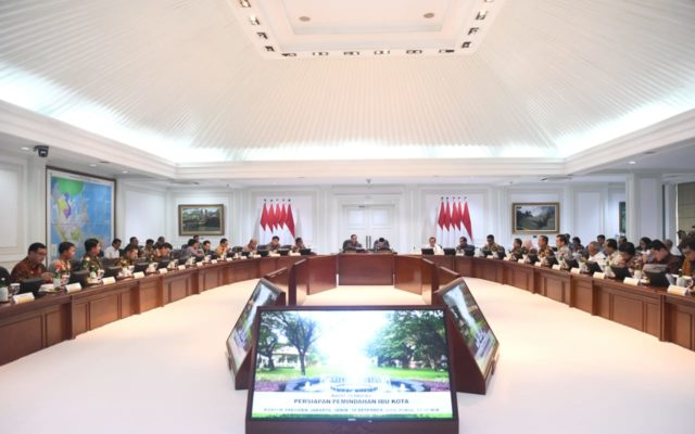 Presiden Jokowi : Pindah Ibu Kota Bukan Sekadar Pindah Kantor Pemerintahan 114