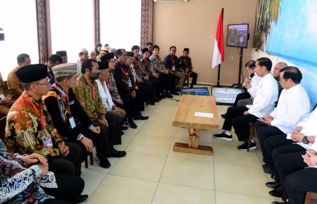 Presiden Apresiasi Dukungan Tokoh Masyarakat Kaltim untuk Ibu Kota Baru 114