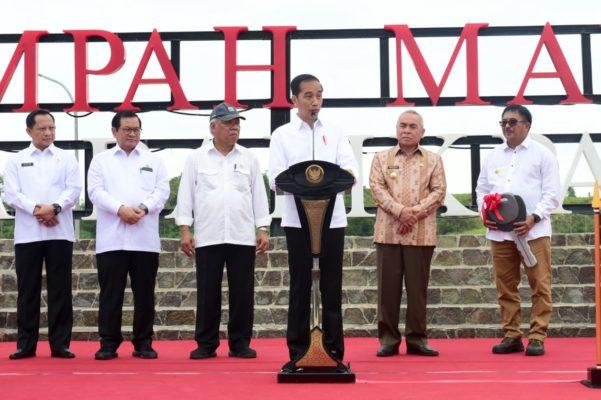 Resmikan TPA Sampah Manggar, Presiden : TPA Sampah Terbaik di Indonesia 113