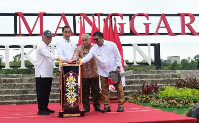 Resmikan TPA Sampah Manggar, Presiden : TPA Sampah Terbaik di Indonesia 114