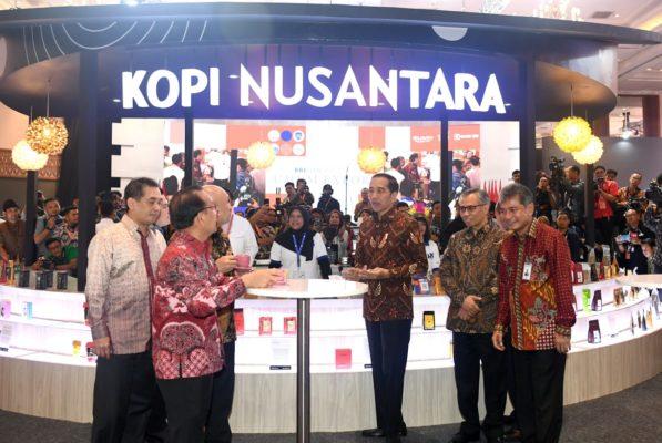 Buka UMKM Export BRIlianpreuneur 2019, Presiden Optimistis Produk UMKM Indonesia Bisa Bersaing di Pasar Global 114
