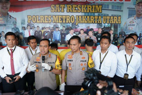 Polres Metro Jakarta Utara Bongkar Praktik Financial Technology (Fintech) Atau Pinjaman Online 113