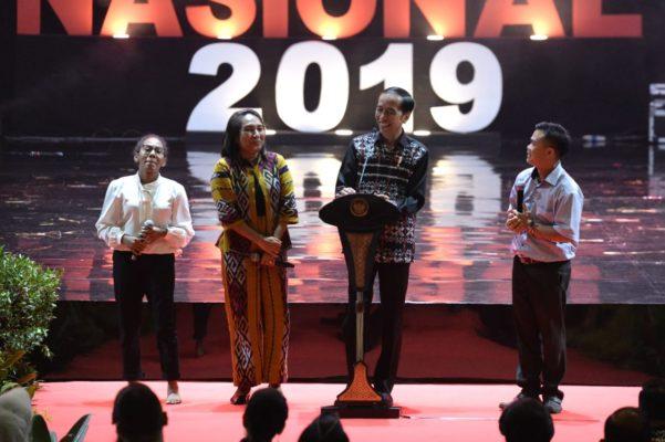 Hadiri Perayaan Natal Nasional 2019, Presiden: Natal Momentum Merajut Kerukunan Bangsa 113