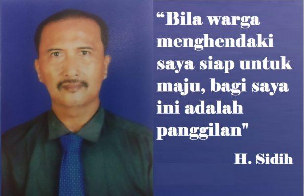 H. Sidih Siap Maju Kembali Calon Kades Setia Mulya - Bekasi 113