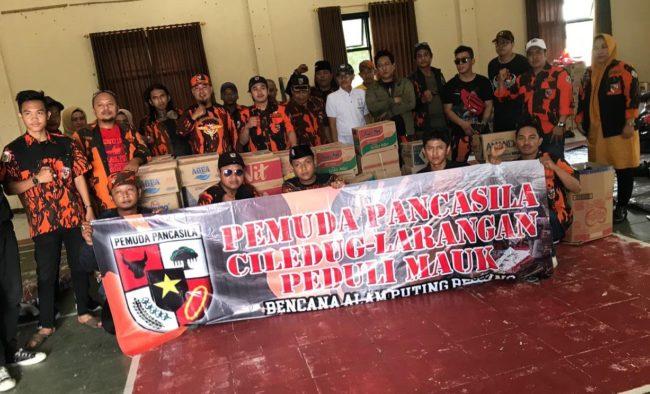 Bantu Korban Bencana, Pemuda Pancasila Adakan Bakti Sosial untuk Korban Puting Beliung 113
