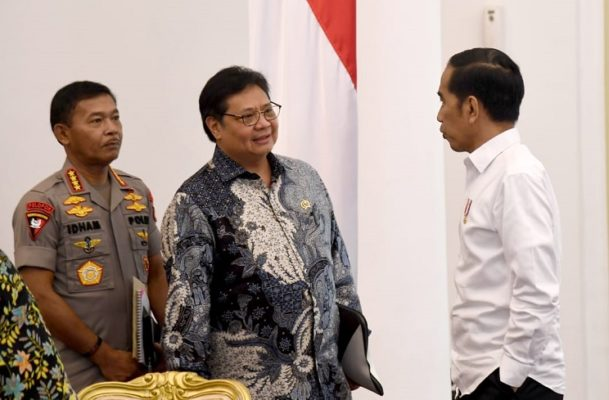 Presiden Bahas Penyusunan RUU Omnibus Law Cipta Lapangan Kerja 113