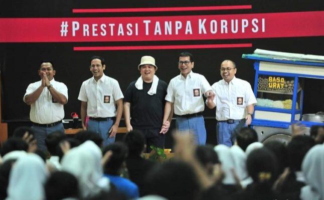 Hadiri Peringatan Hari Anti Korupsi Sedunia di SMKN 57 Jakarta, Presiden Jokowi: Korupsi Dimulai Dari Hal Kecil 114