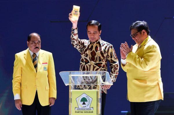 Buka Munas X Partai Golkar, Presiden: Stabilitas Politik Mengamankan Ekonomi Nasional 112