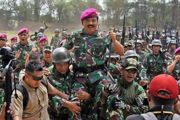 Panglima TNI Cek Kesiapan Operasi Prajurit Pasmar 2 113