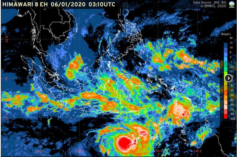 Deteksi Munculnya Dua Bibit Siklon Tropis, BMKG Imbau Masyarakat Waspadai Hujan Tinggi 113