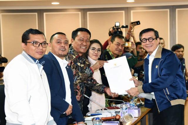 Pemerintah Diimbau Tak Berwacana Dalam Pembahasan 'Omnibus Law' 113