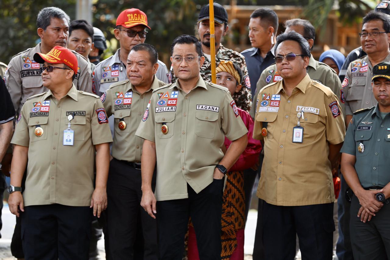 Kemensos RI Mengirimkan Bantuan Korban Banjir Di Bandung Barat Dan Bekasi 113
