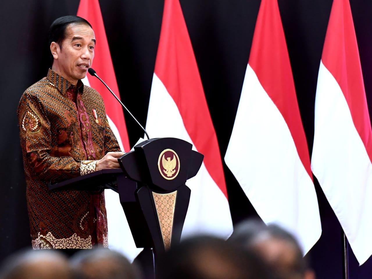 Buka Perdagangan BEI 2020, Presiden Meminta Kepercayaan Investor Dijaga 113