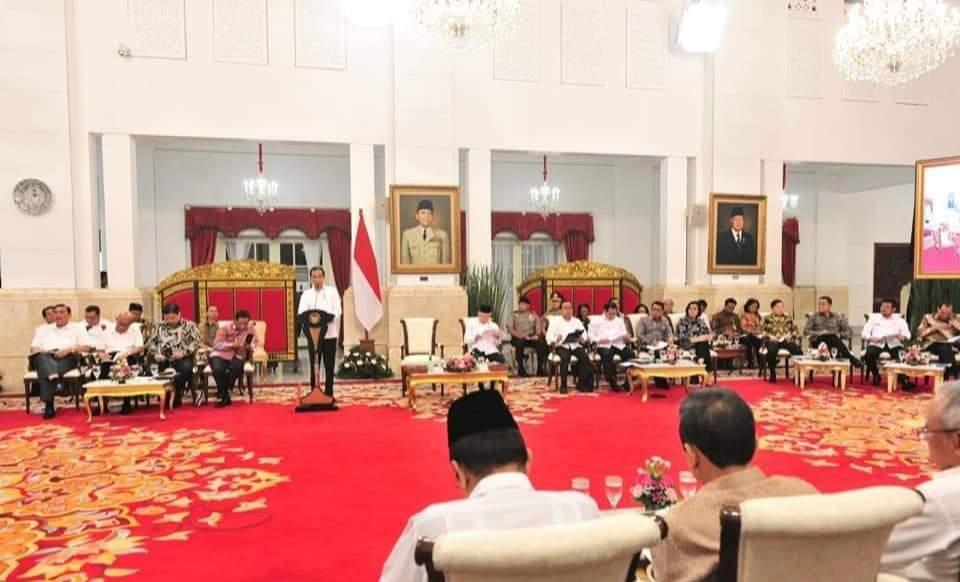 Terkait Pertumbuhan Ekonomi, Presiden Jokowi Minta Seluruh K/L Percepat Belanja Modal 112