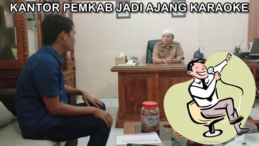 "Wow..!!! Kantor DPMPTSP Kabupaten Pangandaran Layaknya Tempat Hiburan ""Karaoke"" 114"