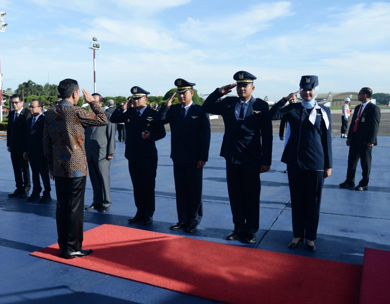 Presiden Jokowi Bertolak ke Abu Dhabi, Bahas Investasi dan Jadi Pembicara Kunci 102