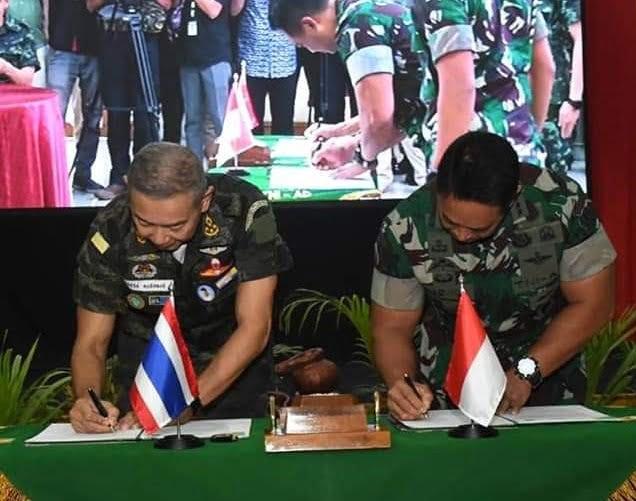 Kunjungan Panglima Angkatan Darat Kerajaan Thailand ke Makodam IM 111