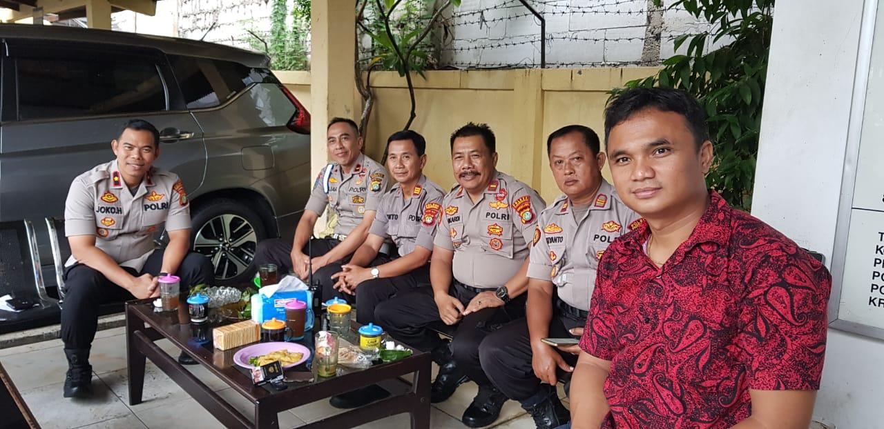 Kompol Joko Ajak Anggota Coffe Morning Diskusi Bersama 113