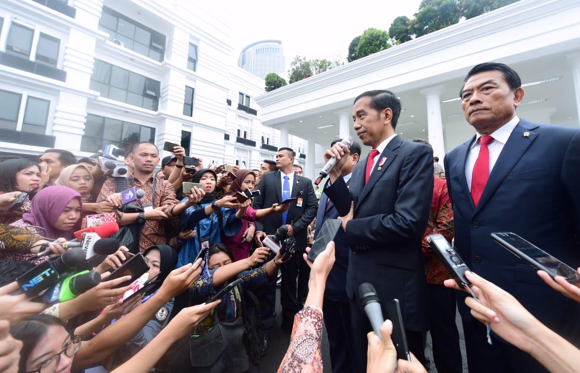 Presiden Jokowi : Kedaulatan Negara Harga Mati, Tidak Bisa Dinegosiasikan dan Ditawar-tawar 101