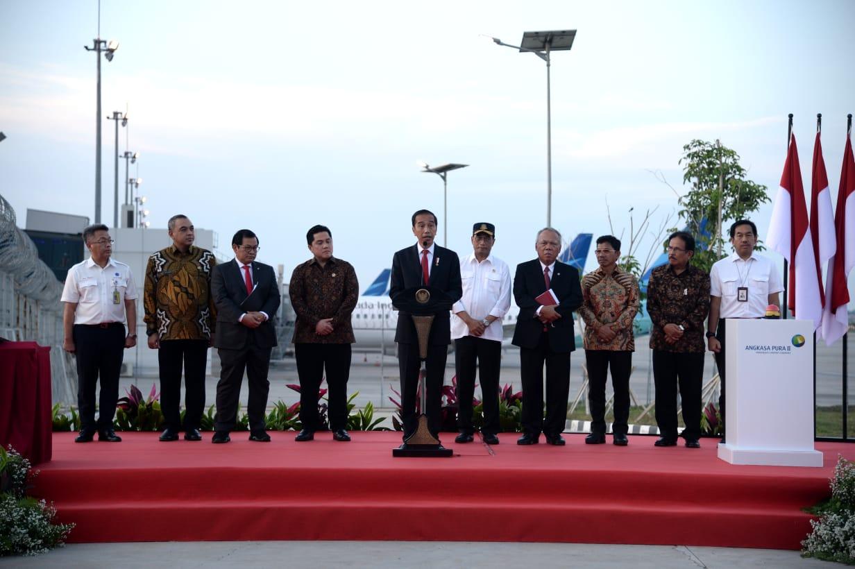 Resmikan Landasan Pacu 3, Presiden Harapkan Peningkatan Layanan Bandara Soekarno-Hatta 114