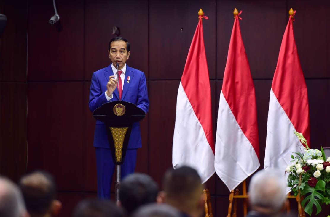Presiden Dorong Sinkronisasi Sistem Hukum agar Lebih Adaptif dan Responsif 101