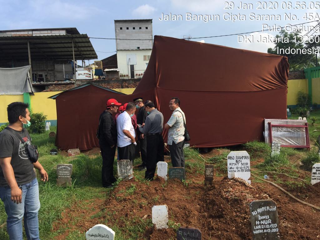 Polsek Kelapa Gading Adakan Otopsi Jenazah 101
